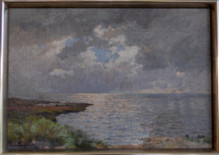 C.C.Schirm An der Ostseeküste