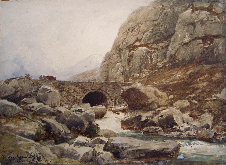 Hans Fredrik Gude Pont-y-Gromlech