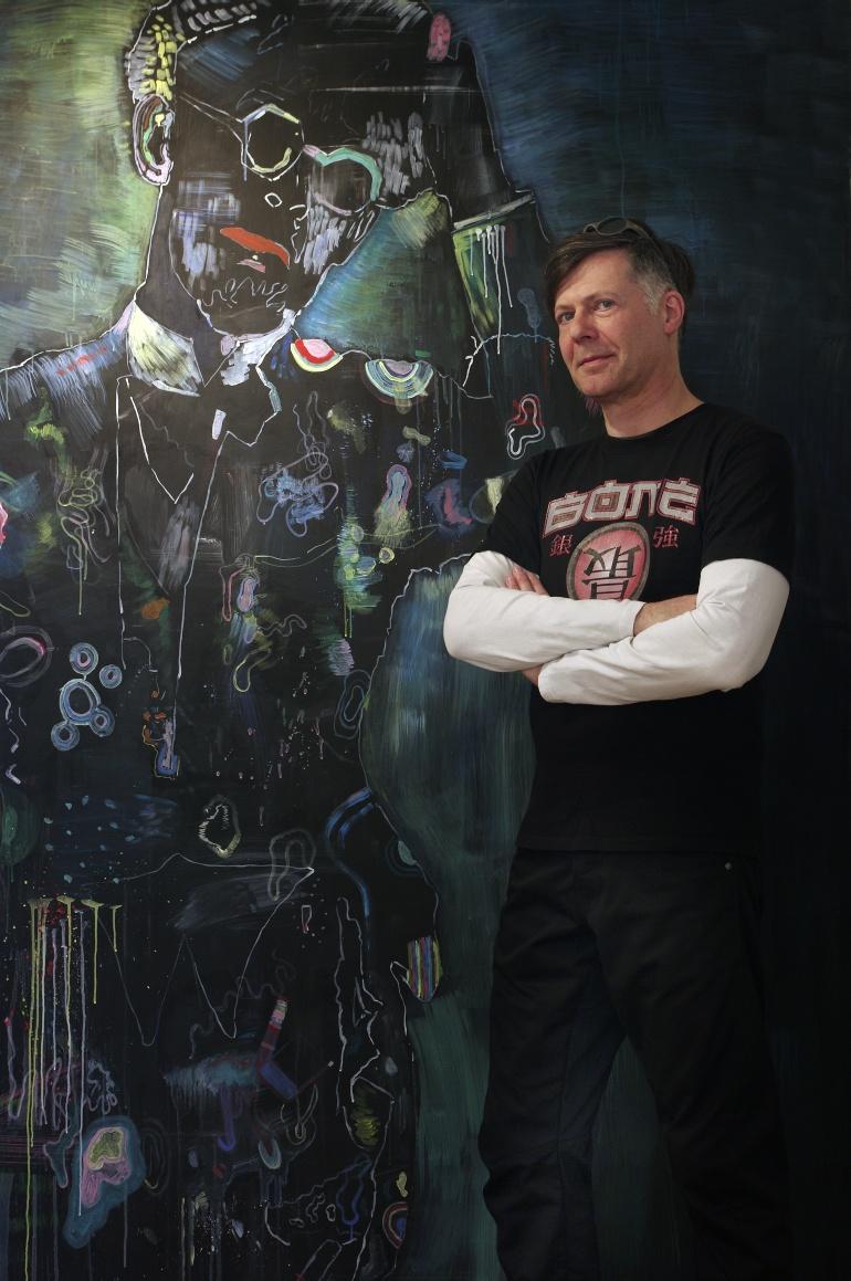 Kunstsammler Olaf Schirm