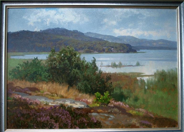 C.C.Schirm Der Hirschberger See