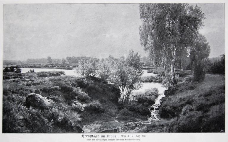 C.C.Schirm Herbsttage im Moor