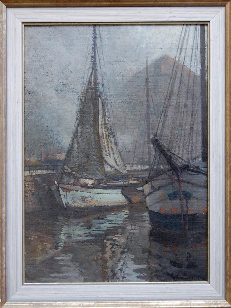 C.C.Schirm Segelboote