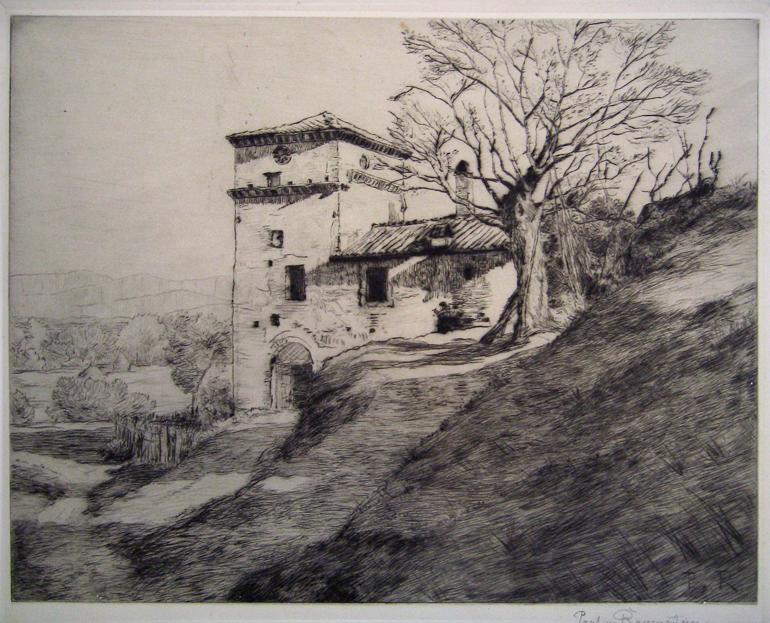 Paul von Ravenstein umbrische Landschaft