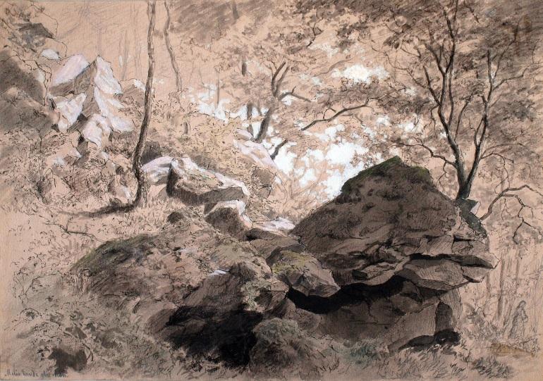 Johannes Grimelund Im Laubwald