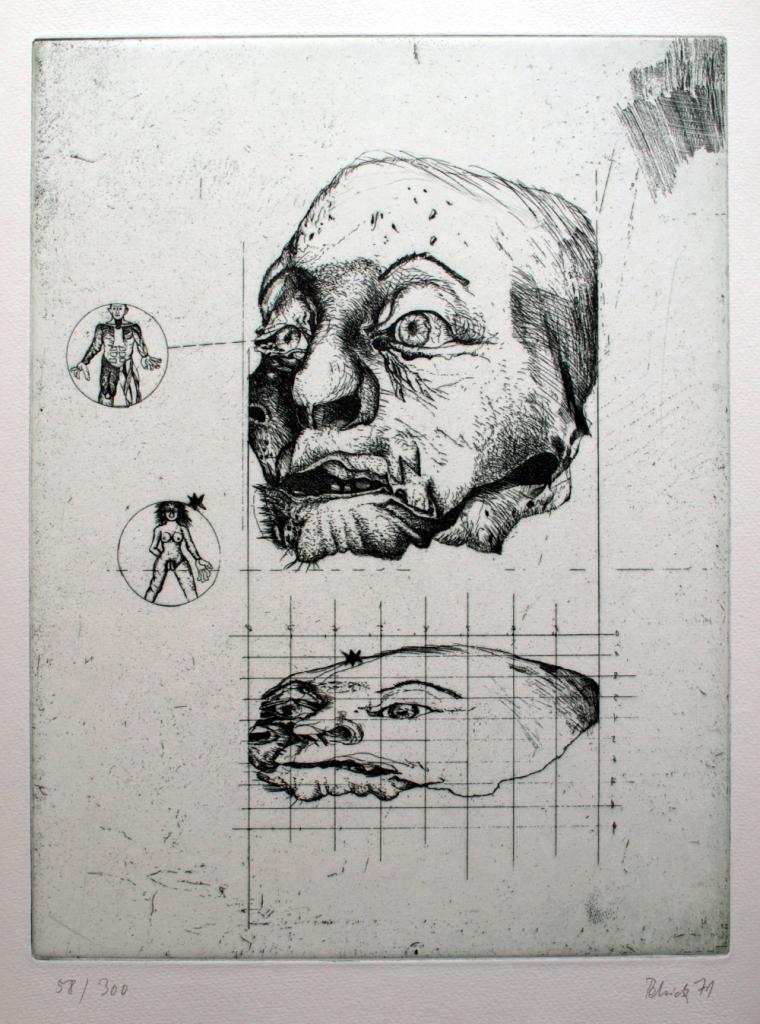 Wolfgang Petrick Kopfstudie
