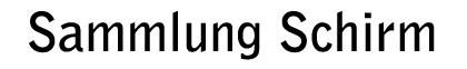 Sammlung Schirm Logo