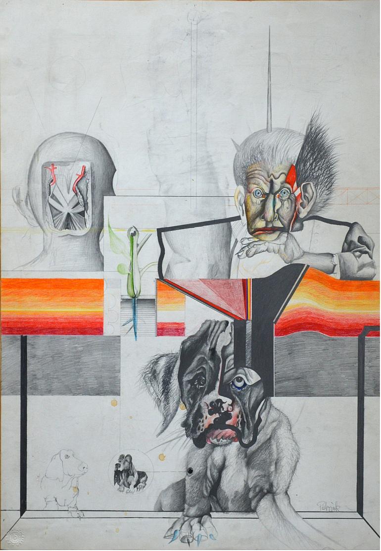 Wolfgang Petrick o.T. Cocker Spaniel