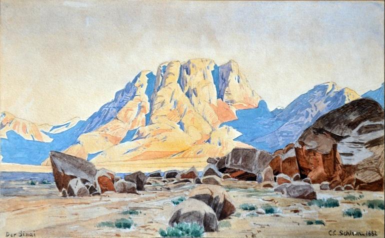 C.C.Schirm - Der Sinai